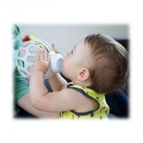 The Original Baby 奶瓶握套 (粉紅色) (不含奶瓶)