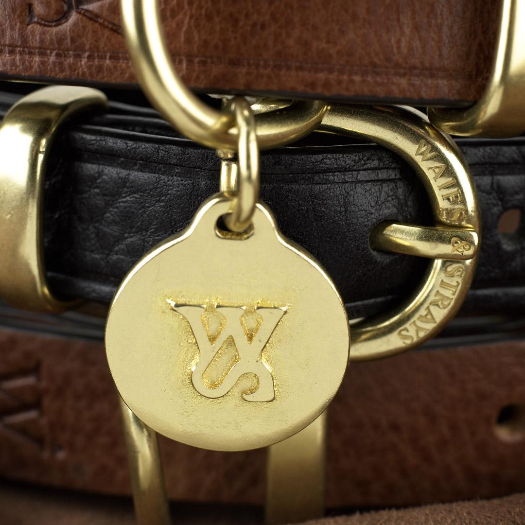 WAIFS & STRAYS 實心黃銅寵物吊牌-英國進口寵物精品