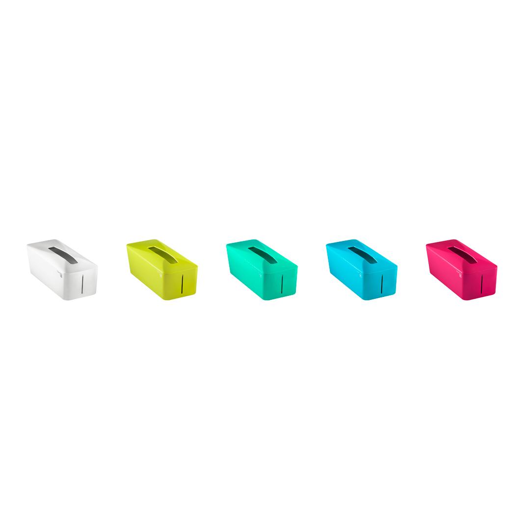 有藝氏 Unique Art Tissue. Know自動彈升面紙盒 (土耳其藍)