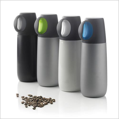XDDESIGN 單耳隨杯保溫瓶(灰綠)