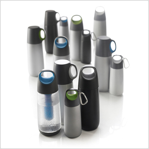 XDDESIGN 隨行雙蓋保溫瓶(灰綠)
