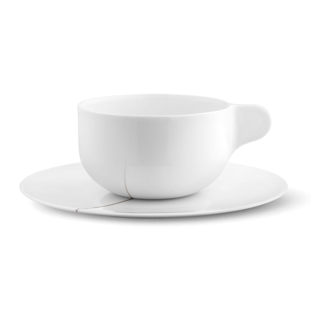 丹麥 Georg Jensen Tea with Georg 系列 白瓷 午茶杯 雙人套組
