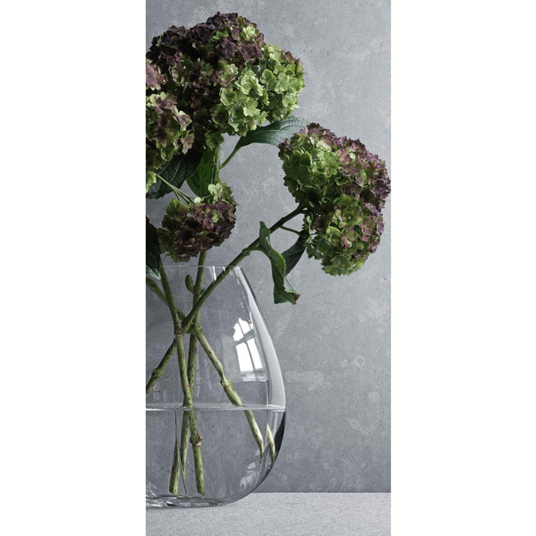 丹麥 Georg Jensen Facet Vase in Large 折影 玻璃花瓶 大尺寸