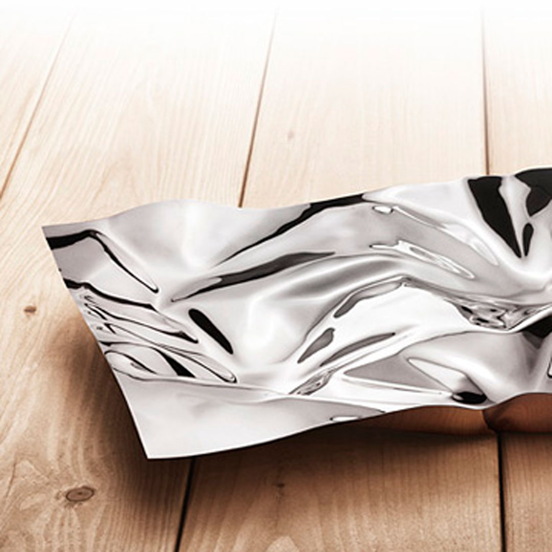 丹麥 Georg Jensen Masterpieces 1302 Panton Tray Medium 縐褶 置物皿 中尺寸