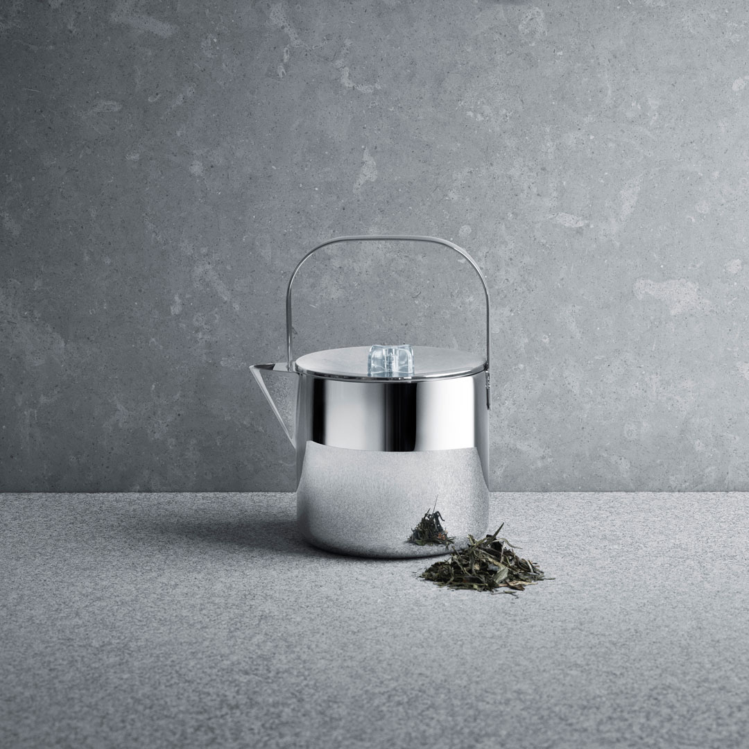 丹麥 Georg Jensen Tea with Georg Tea Pot 1.2L 茶道系列 不鏽鋼 茶壺