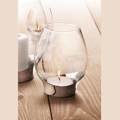 丹麥 Georg Jensen Grace Candleholder 玻璃水滴 燭台,John Sebastian (dk) 設計