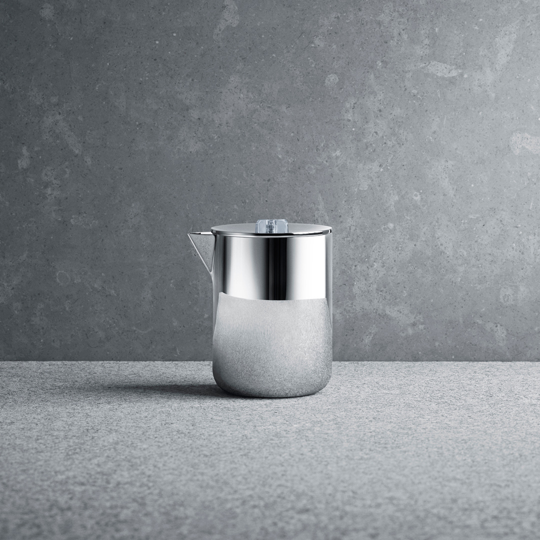 丹麥 Georg Jensen Tea with Georg Milk Jug 茶道系列 不鏽鋼 奶罐,Scholten & Baijings 設計