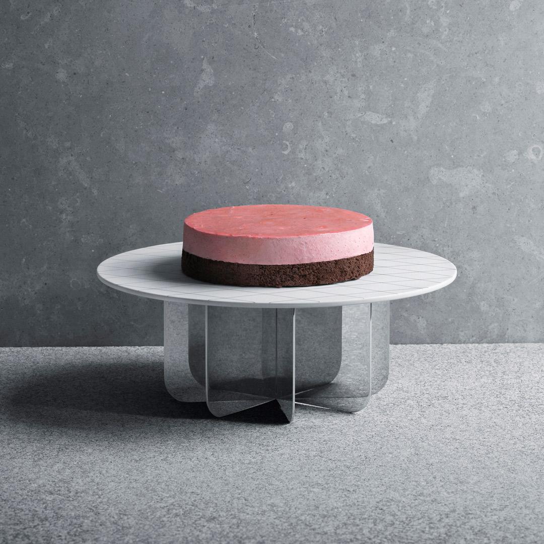 【FINAL CALL】丹麥 Georg Jensen Tea with Georg Cake Stand 茶道系列 高腳蛋糕盤,Scholten & Baijings 設計