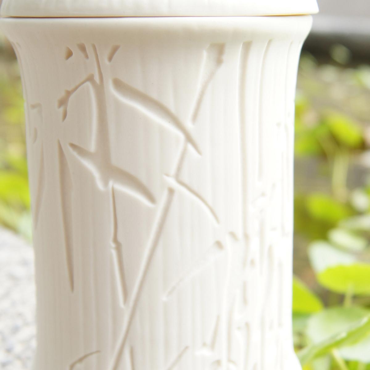 好合苑 Grand Garden 竹韻蓋杯 墨竹 單白色 (附提袋)