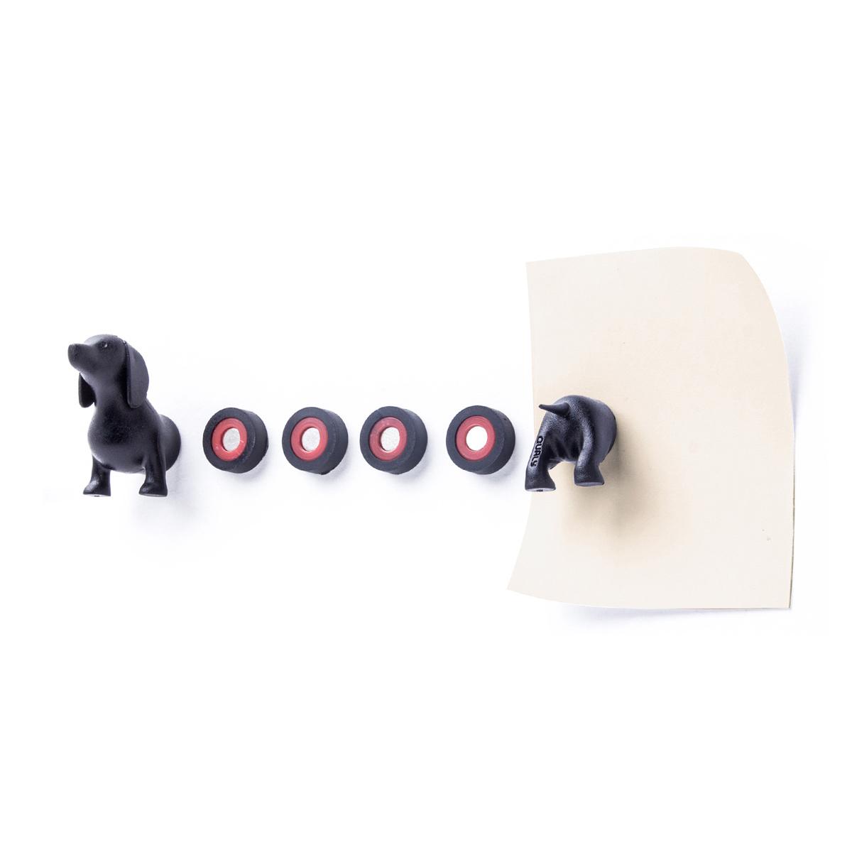 QUALY 創意磁鐵-臘腸狗