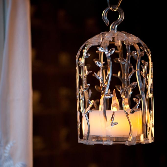 藤蔓鳥籠燈 透明