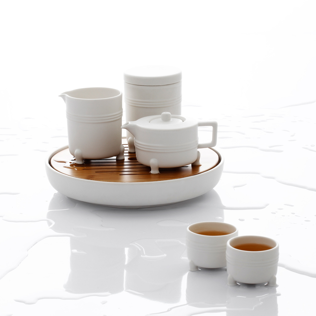 JIA 故宮系列 Tea Set 弦紋茶組,器研所 設計