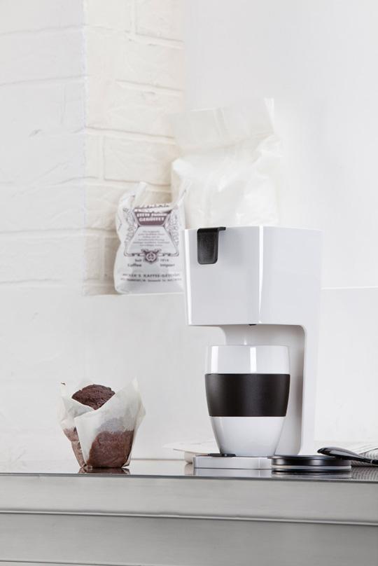 KOZIOL Unpg滴漏式咖啡壺(白)