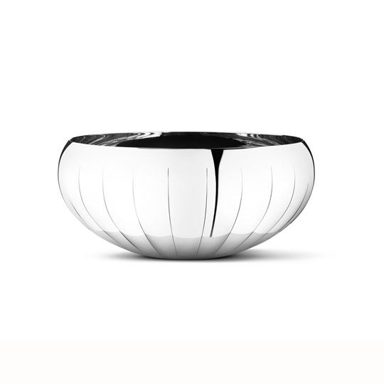 丹麥 Georg Jensen Legacy 系列 Bowl Medium 銀波紋 置物皿 中尺寸,Philip Bro Ludvigsen 設計