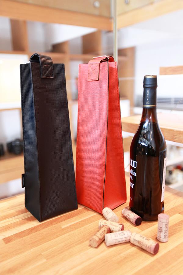 【FINAL CALL】GOODJOB 高塔系列 紅酒袋 橘紅