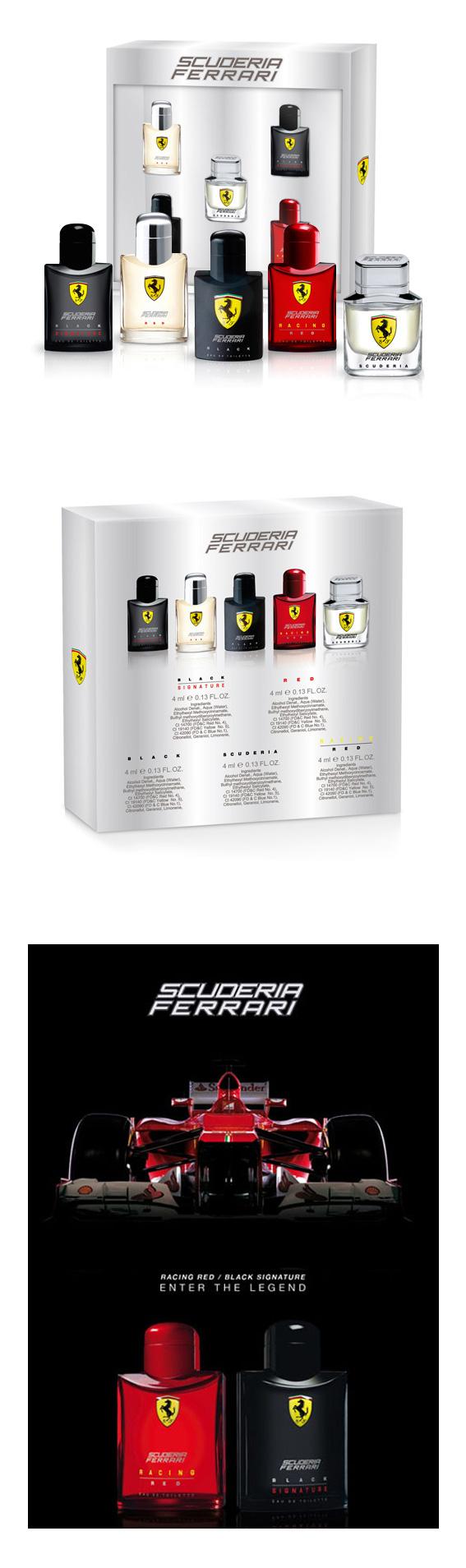 【12/5~12/11浪漫冬季特價】Ferrari 法拉利 勁速法拉利小香組禮盒II (4ml*5入)
