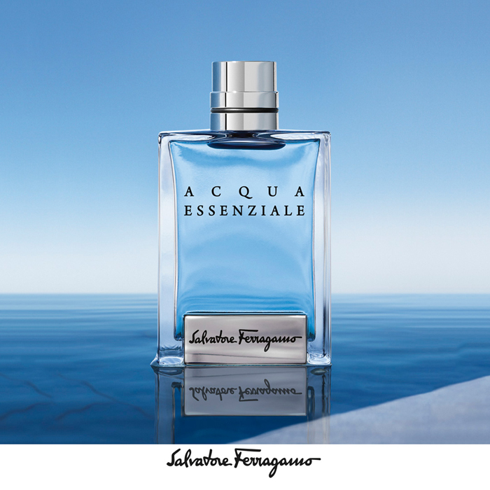 Salvatore Ferragamo 費洛加蒙 蔚藍之水男性淡香水(50ml)(贈同款小香)