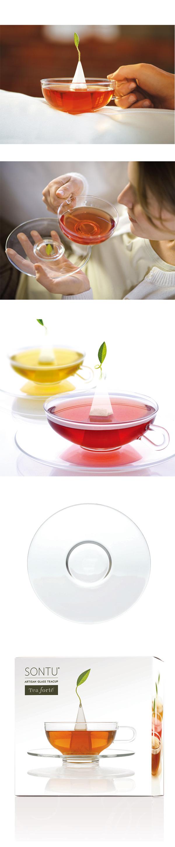 Tea Forte Sontu玻璃茶杯