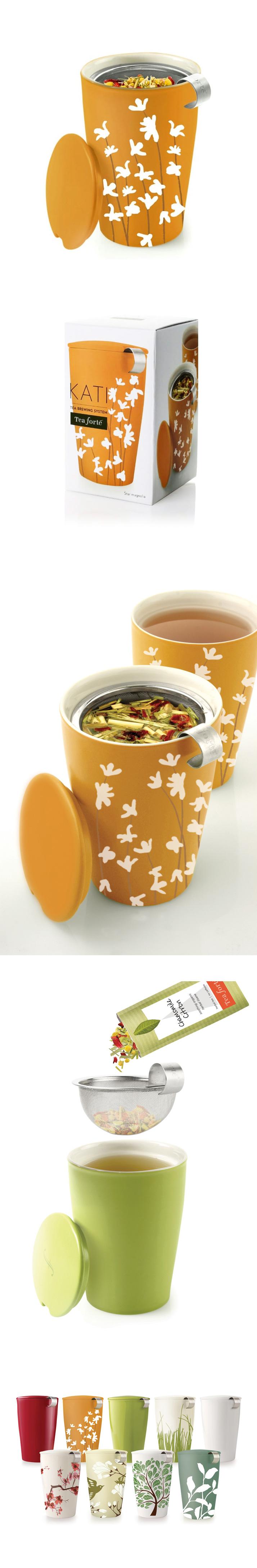 Tea Forte 卡緹茗茶杯 星蘭