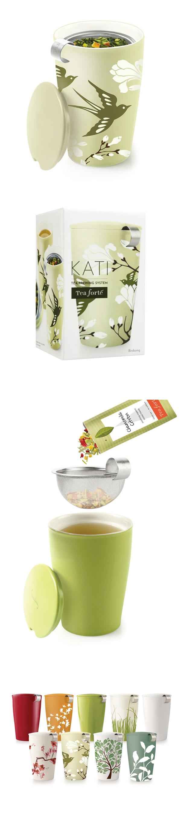 Tea Forte 卡緹茗茶杯 鳥語