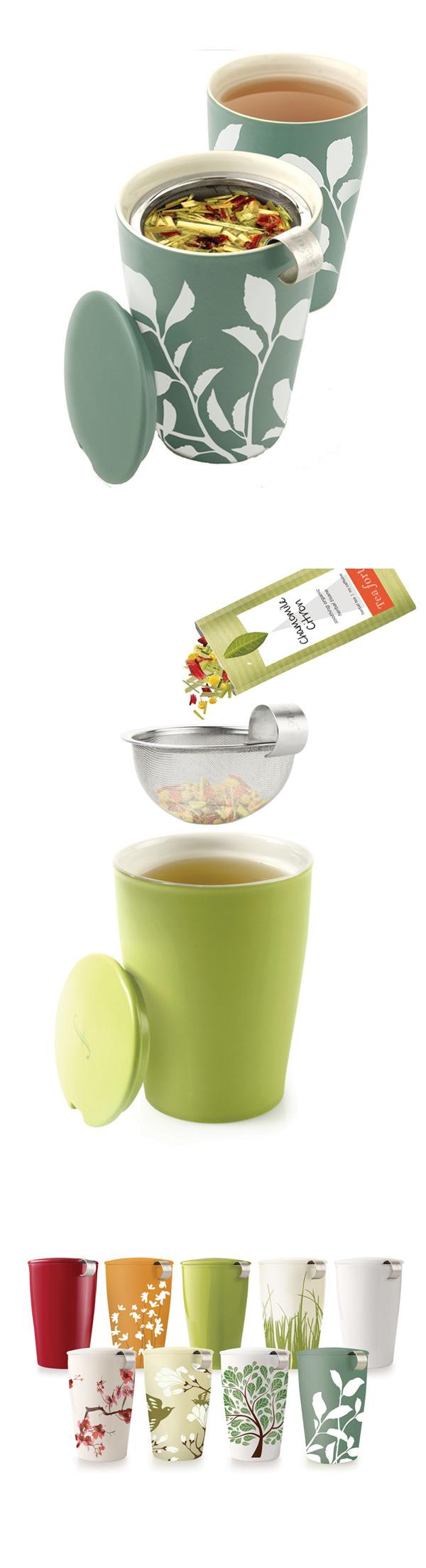 Tea Forte 卡緹茗茶杯 樹梢