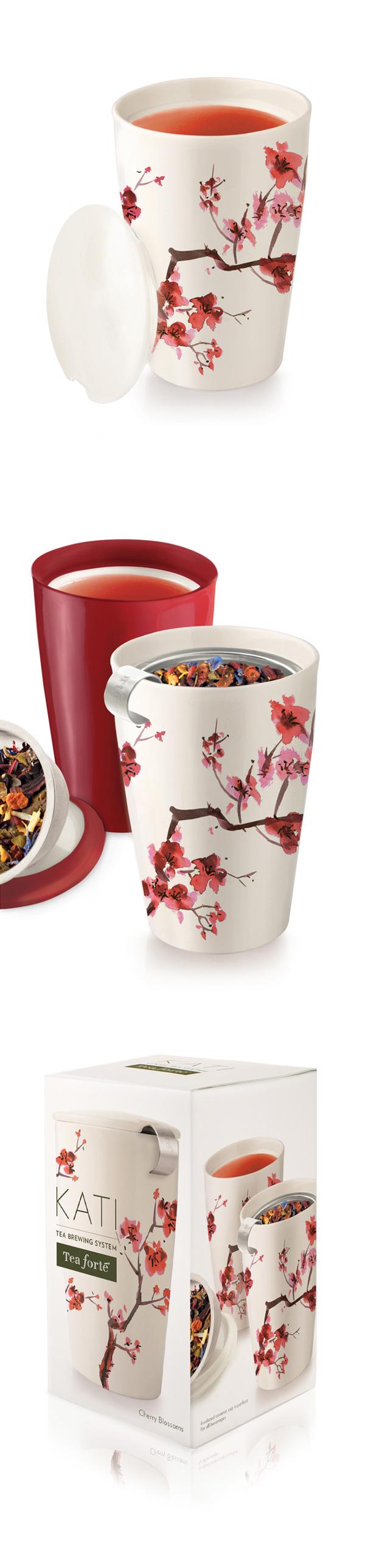 Tea Forte 卡緹茗茶杯 櫻花