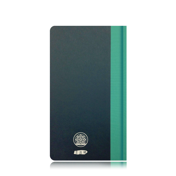 攸 UBook 可客製化 生日花禮物書 百代深藍/綠 枝葉 (價格包含5字內雷雕費用)