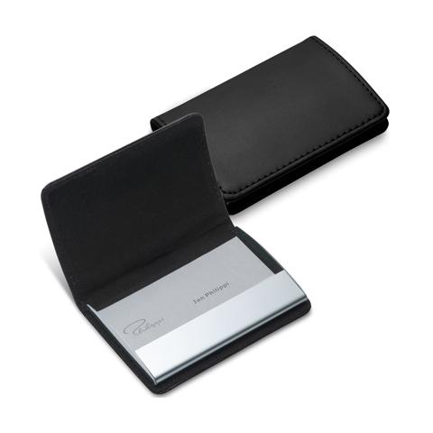 PHILIPPI Gianni 磁性橫名片盒(黑)