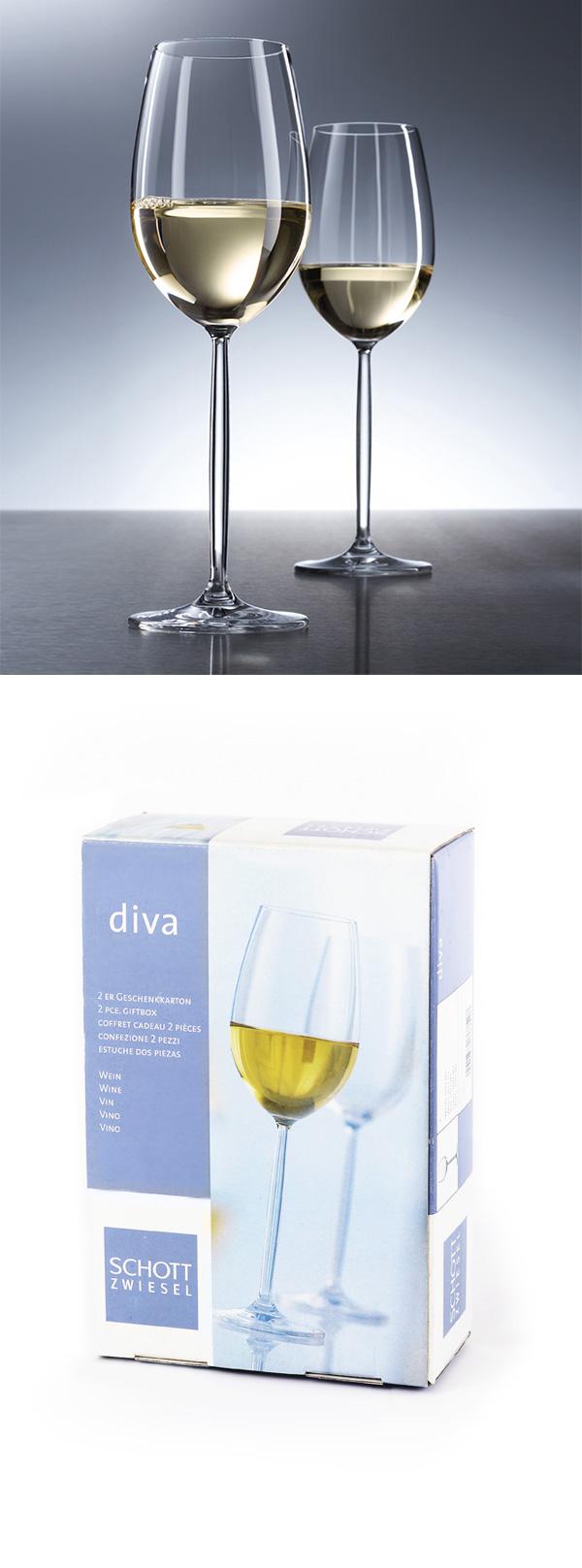 (大宗採購)德國蔡司 Schott Zwiesel DIVA 白酒對杯 禮盒裝