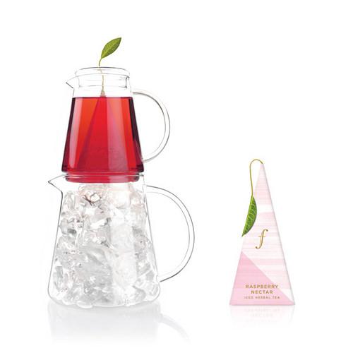 覆盆莓子冰茶 Iced Raspberry Nectar Tea {花草茶} 將充滿陽光滋味的覆盆莓的天然甜味完美保存,每一口冰茶,都可感受到鮮甜的果蜜香。