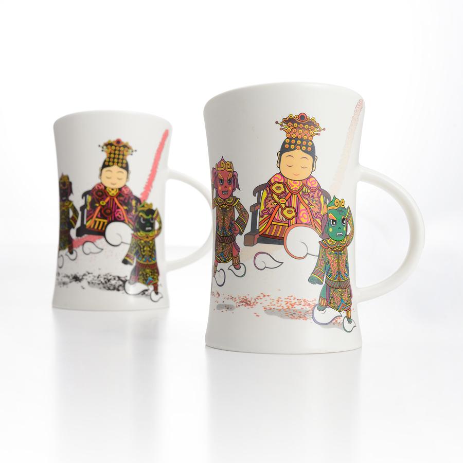 集瓷 cocera 媽祖保庇變色杯