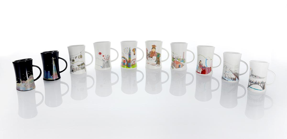 集瓷 cocera 烏來泰雅變色杯