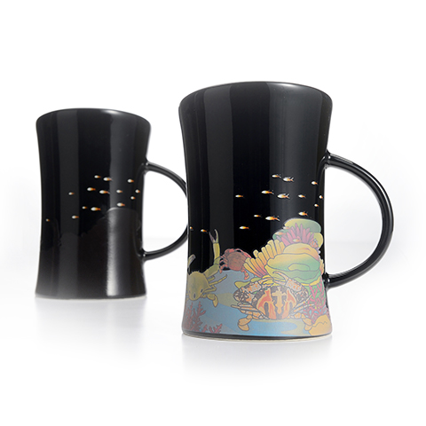 集瓷 cocera 萬里海蟹變色杯