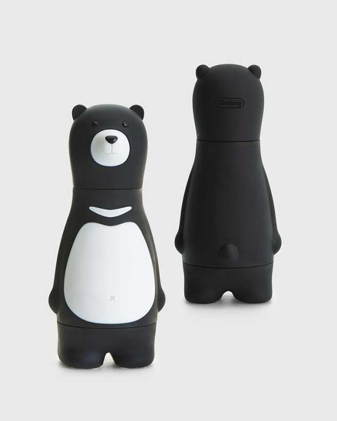 可愛的白色V字是台灣最具代表性的台灣黑熊