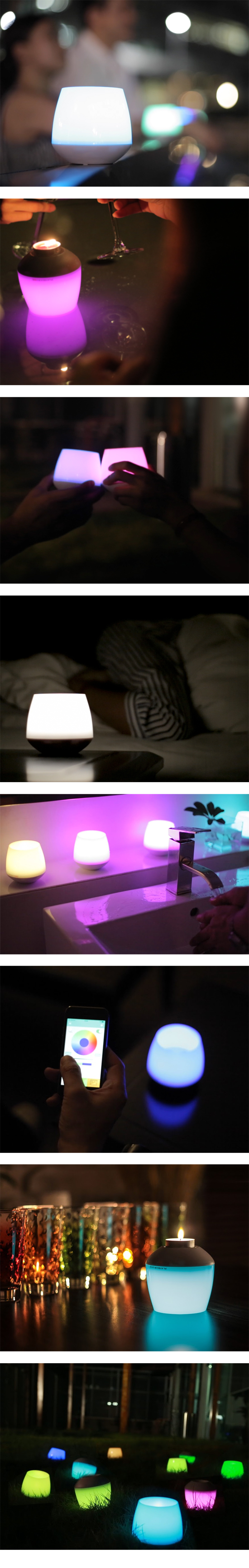 MiPow PLAYBULB 魔泡 CANDLE 智慧LED蠟燭燈