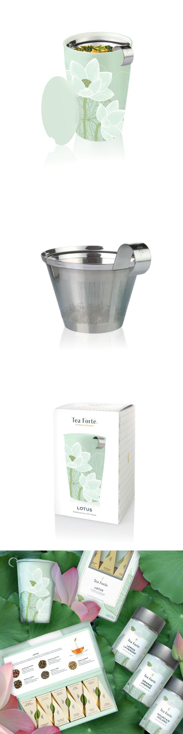 Tea Forte 卡緹茗茶杯 蓮花