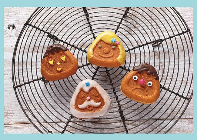 日本recolte Smile Baker Nico-Poom Plate 微笑鬆餅機專用三角烤盤