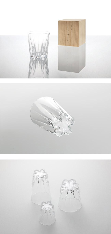 Perrocaliente SAKURASAKU 櫻花杯 清酒杯 透明