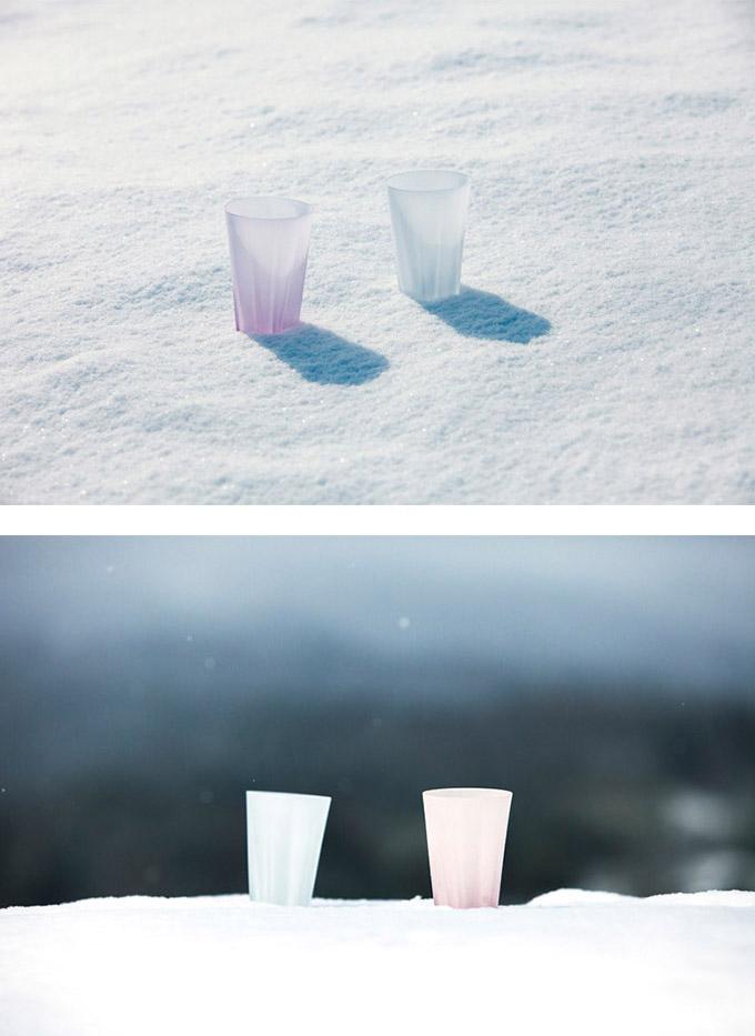 Perrocaliente SAKURASAKU 雪櫻杯 雙入同款不同色 一般 原色&櫻花粉