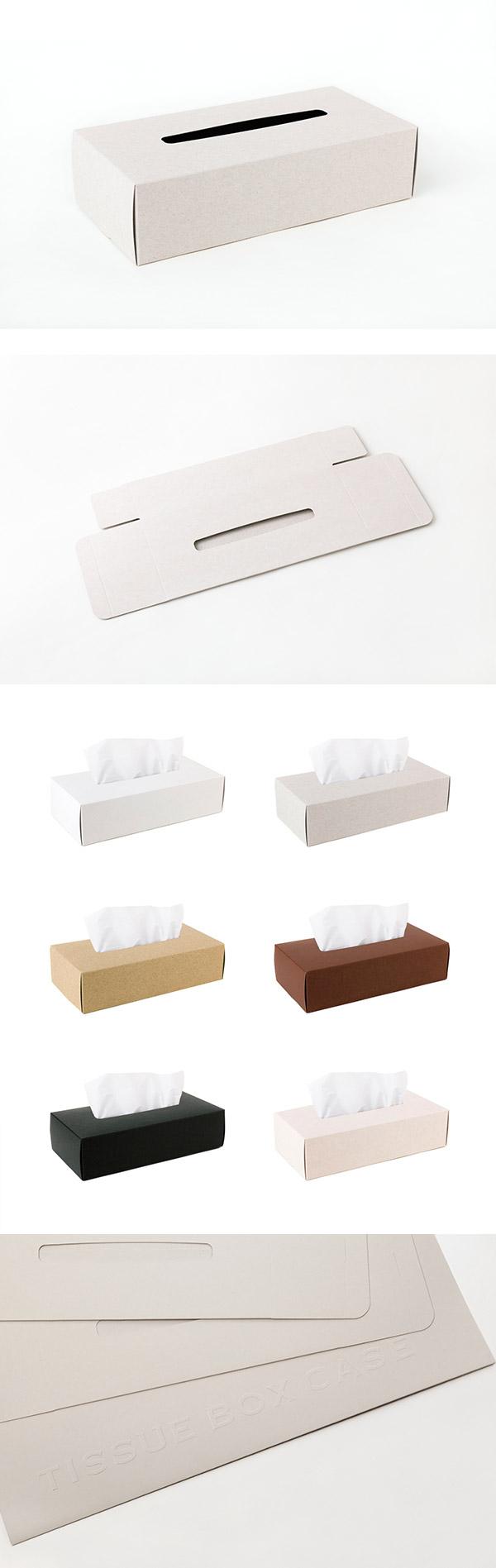 Perrocaliente TISSUE BOX CASE 面紙盒 2入 灰色