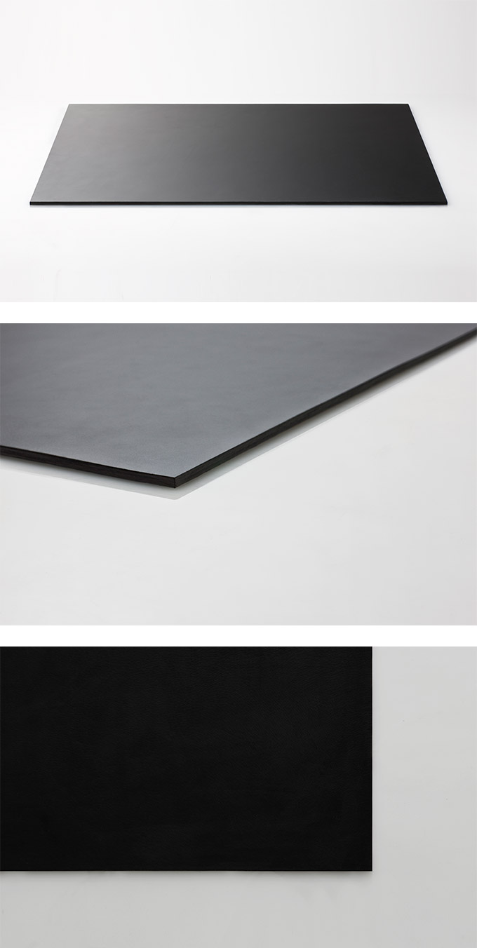 Perrocaliente Leather Desk Mat Series 牛皮墊 小 黑