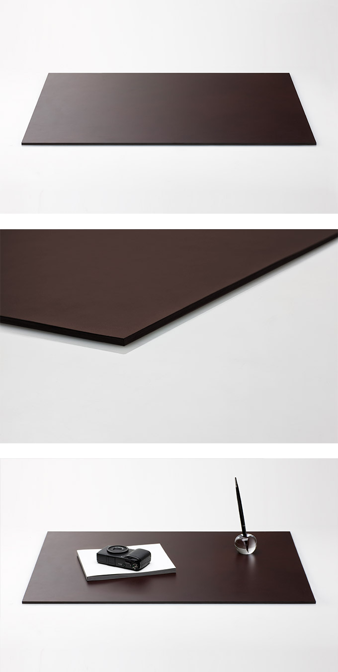 Perrocaliente Leather Desk Mat Series 牛皮墊 小 棕