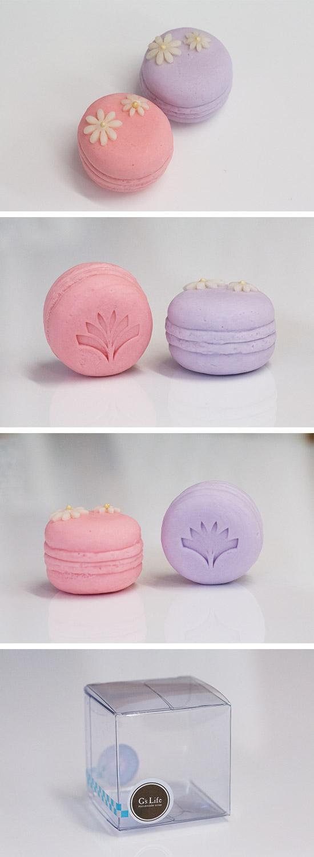 (大宗採購) G's Life 婚禮小物‧小花馬卡龍香皂 (一組50個)