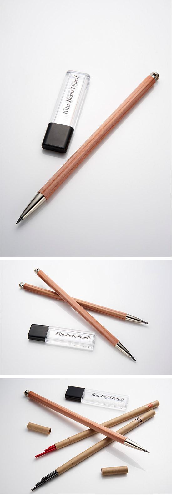 北星大人鉛筆 附筆芯削 原木組