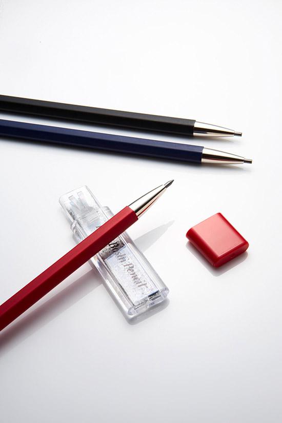 北星大人鉛筆 彩 茜 (紅筆身+紅蓋筆芯削)