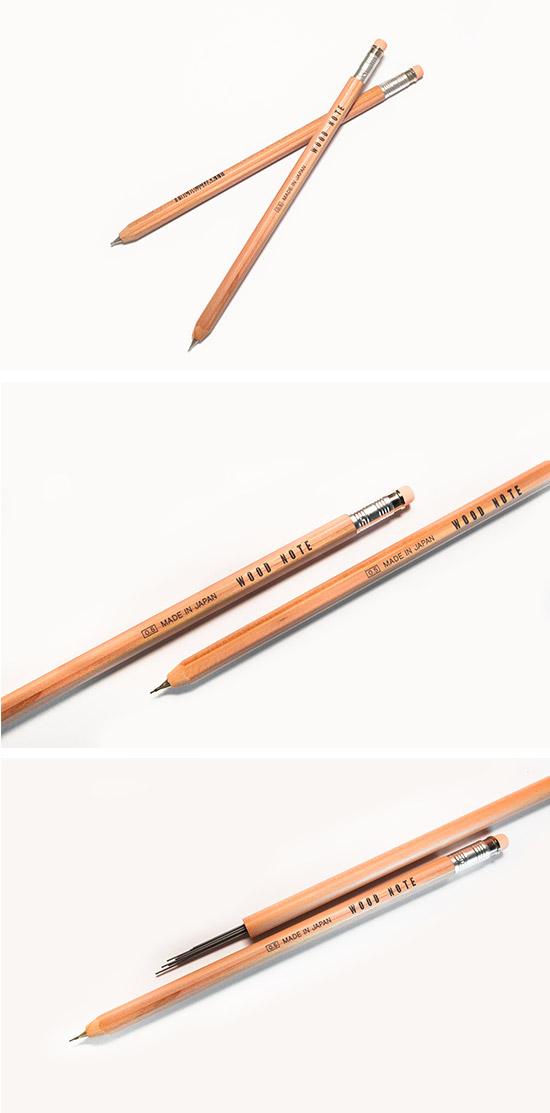 北星大人鉛筆 復刻版 WoodNote 自動鉛筆