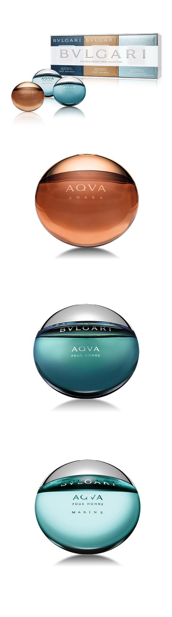 【FINAL CALL】BVLGARI 寶格麗 AQVA隨身香氛禮盒 (15ml*3入)