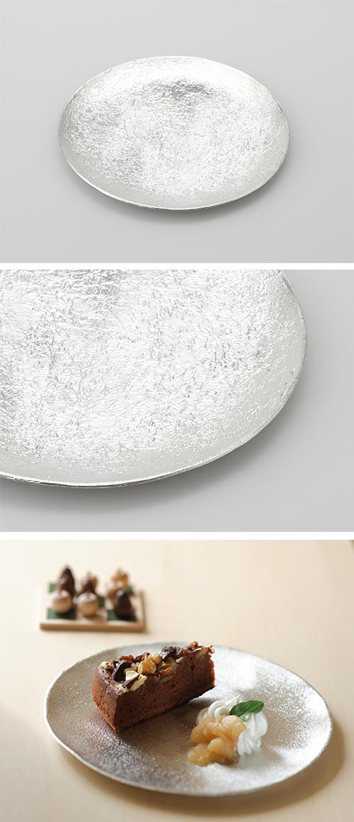 日本能作 純錫小圓盤 冰紋