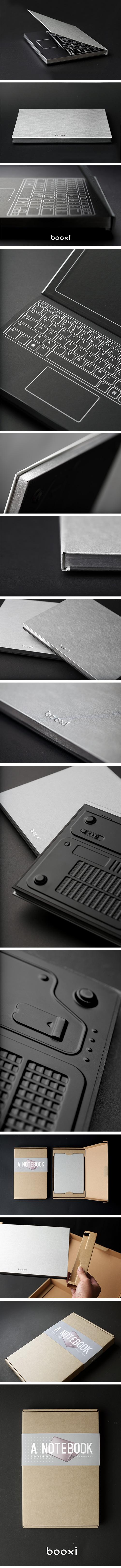 天晴設計 筆電造型筆記本 Laptop Notebook