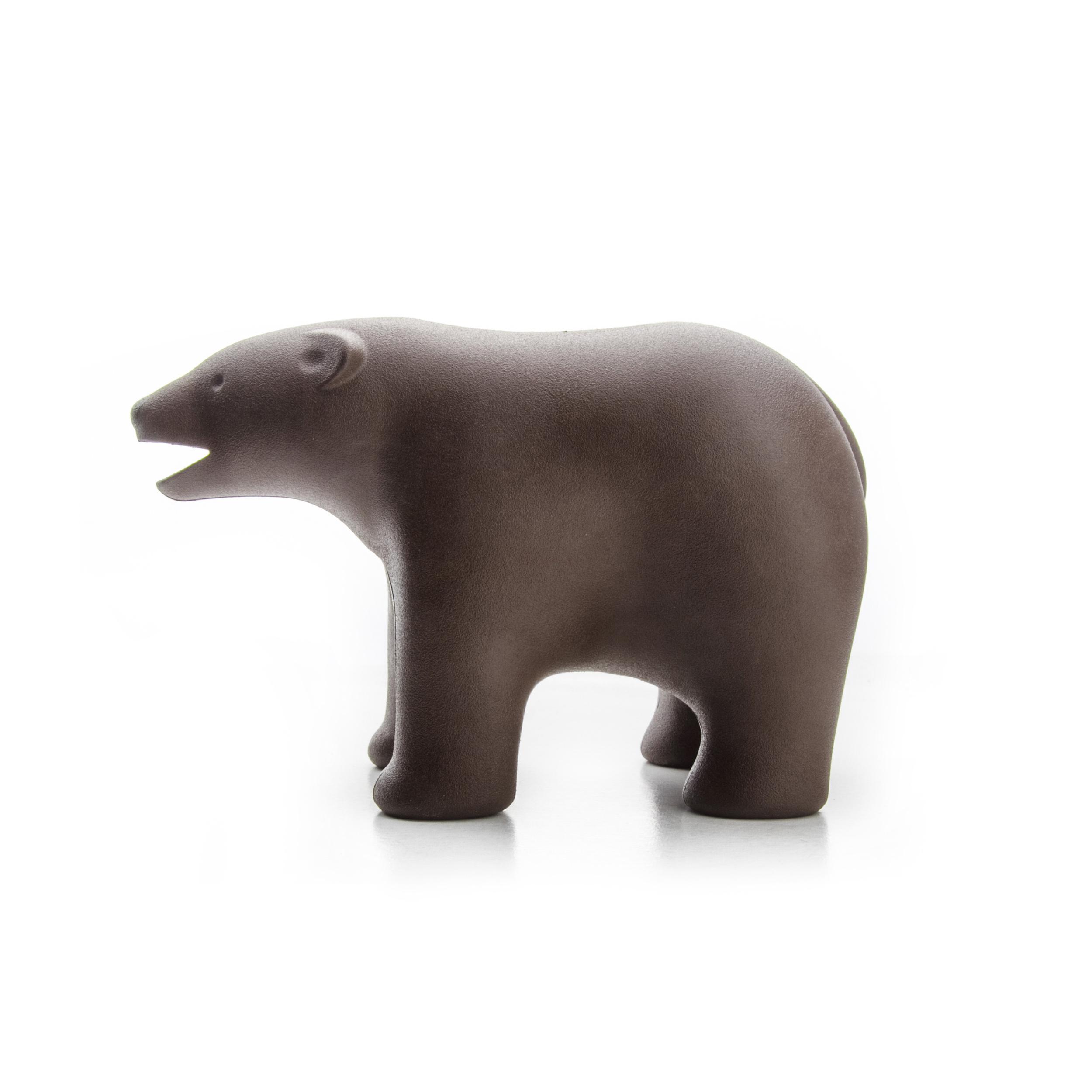QUALY 大熊出沒 膠帶組 咖啡